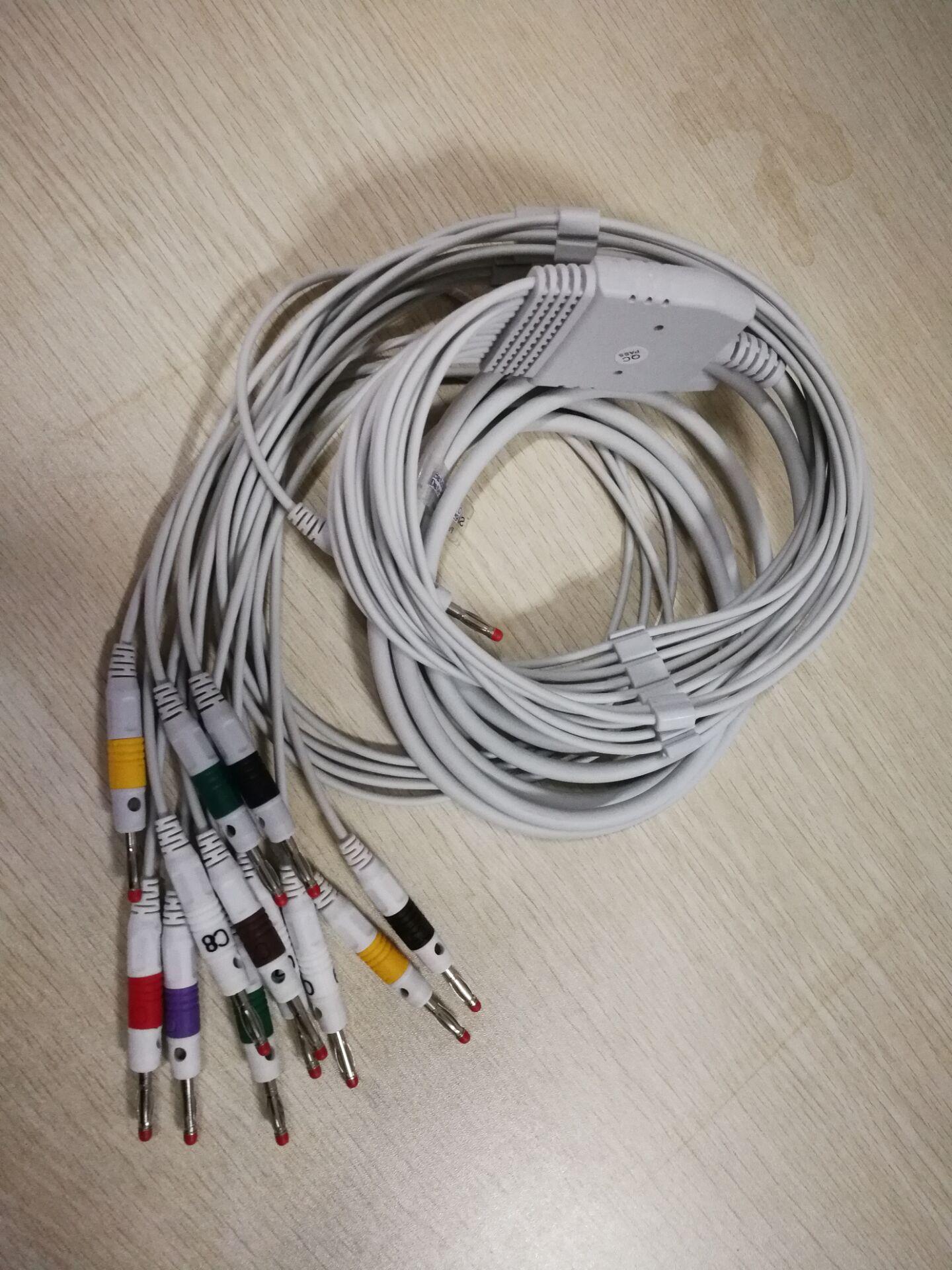 12导心电图机心电导联线